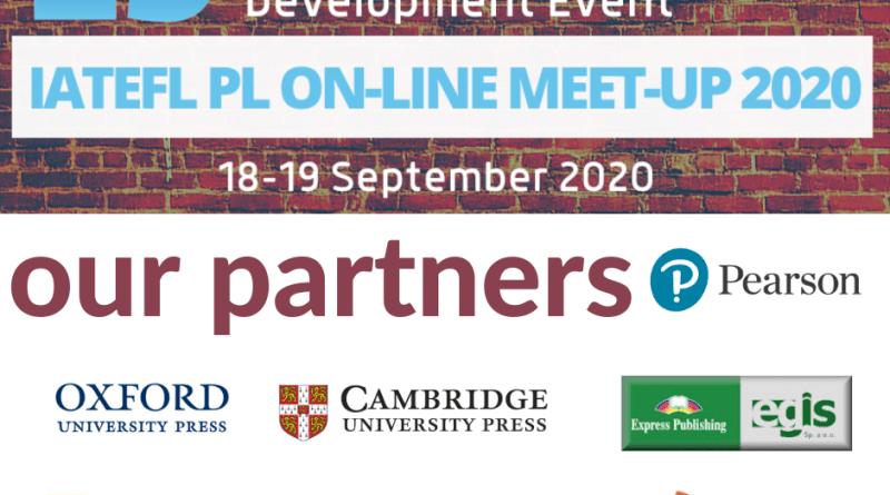 PARTNERS  IATEFL PL ON-LINE MEET-UP 2020 29th ELT Professional Development Event