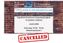 Jowita Wilk's session cancelled!