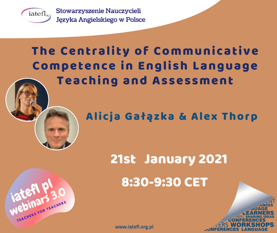 Webinar: The Centrality of Communicative Competence in English Language Teaching and Assessment