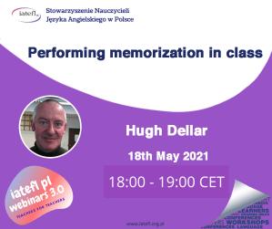 Performing memorization in class – a webinar by Hugh Dellar