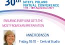 30th INTERNATIONAL IATEFL POLAND Virtual Conference Gold Partner  Cambridge University Press: Anne Robinson