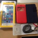 iPhone6シリーズのケースなど若干ですが、入荷しました。