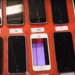 iPhone歴代10種類を水に沈めた結果