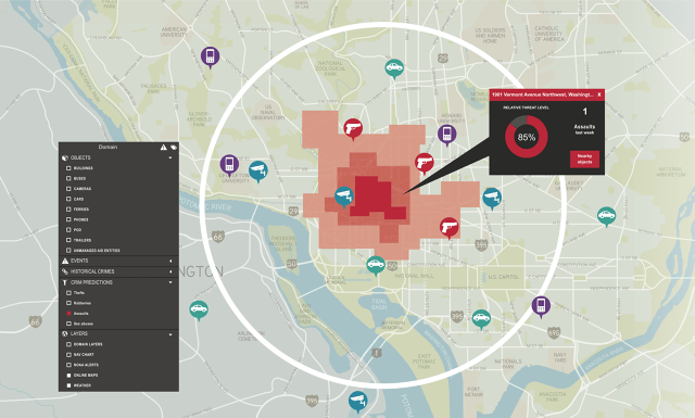Visualization Predictive Crime Analytics (PCA)