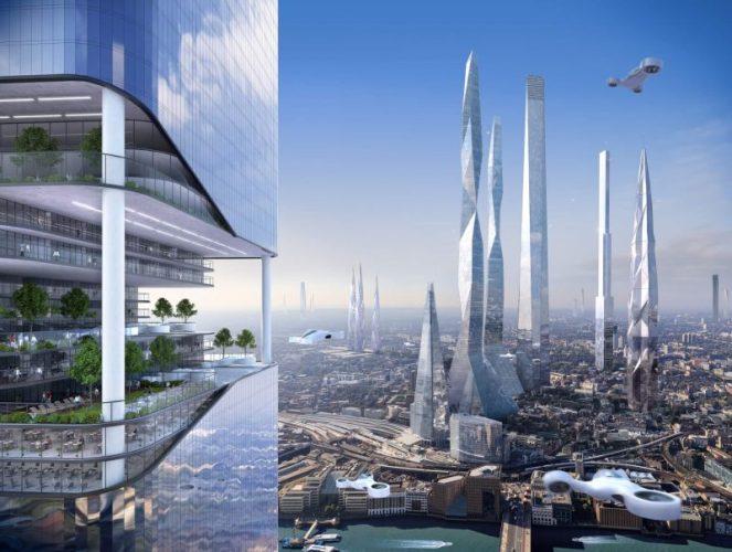 futur ville urbain