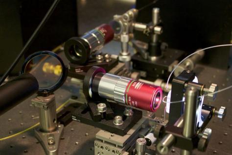 Photonic time stretch microscope, Tunde Akinloye/CNSI
