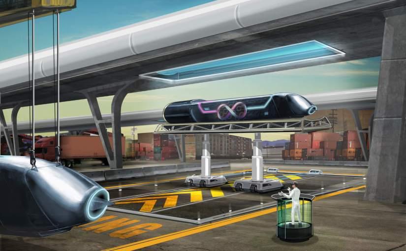 Premier test réussi pour Hyperloop
