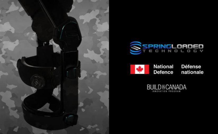 L'armée canadienne test des genouillères bioniques