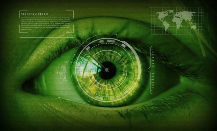 security- biometrie scan iris oeil