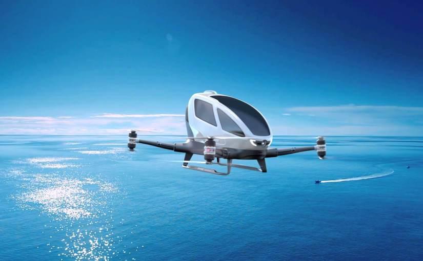 Les premiers taxis aériens au monde prendront le ciel d'ici à cinq mois