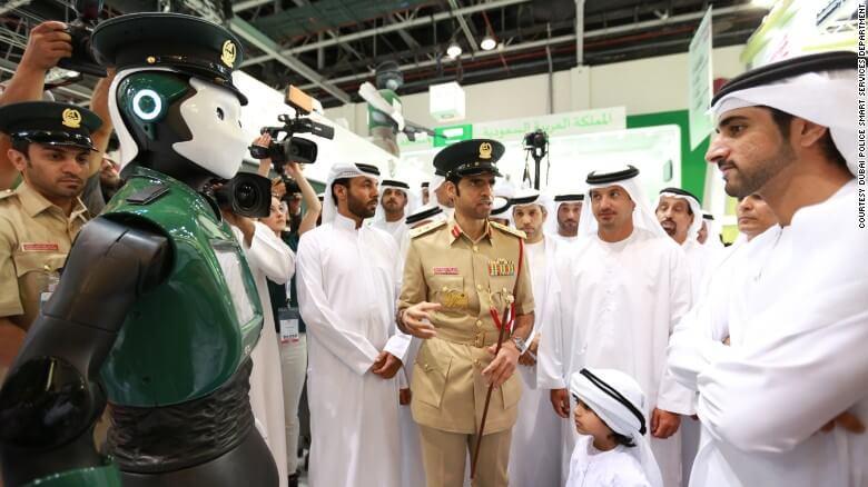 Dubaï veut des robots pour composer 25% de sa police d'ici 2030