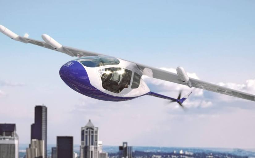 Rolls-Royce a dévoilé son concept de taxi volant