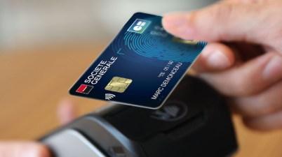 Carte bancaire biométrique SG
