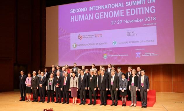 Second International Summit on Human Genome Editing, Hong Kong, Nov. 27-29, 2018