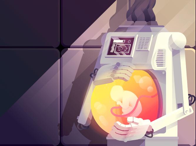 bébé utérus artificiel