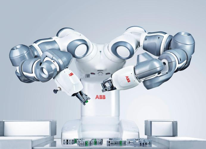 robotic ROBOT-TRAVAIL-automatisation YuMi - Robots Industriels ABB