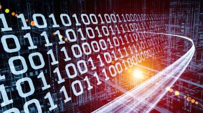Vitesse du flux d'informations data