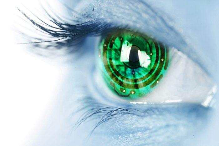 eyes cyber girls oeil cyborg