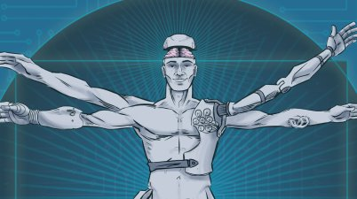 homme augmenté transhumanisme h+