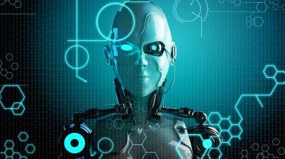 robot cyborg ia