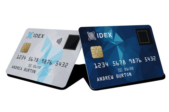 IDEX Biometrics multiple_cards_white_blue-_tiny-min