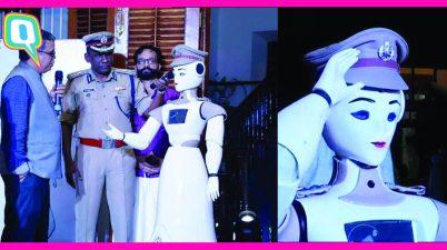 KP-Bot robot policier