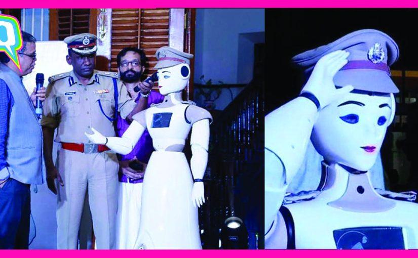 L'Inde vient d'assermenter son premier robot policier