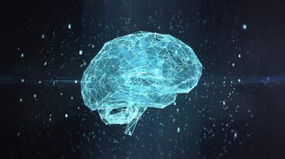 Apprentissage automatique, intelligence artificielle, concept de réseau de neurones à apprentissage en profondeur, Machine learning, deep learning, blockchain, brain, cerveau