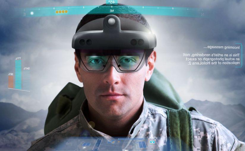 Démonstration du prototype militaire HoloLens 2 de Microsoft