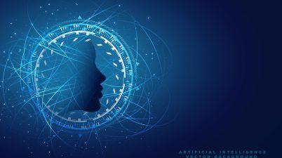 intelligence artificielle ia visage design