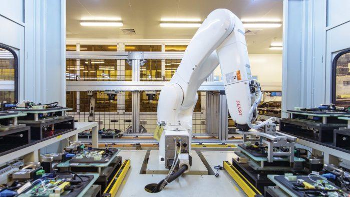 travail robot automatisation