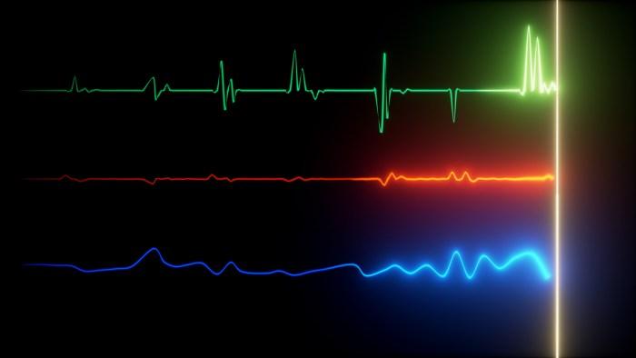 moniteur de fréquence cardiaque battement cardiaque coeur
