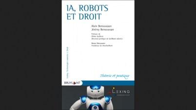 IA, robots et droit