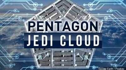 JEDI (Joint Enterprise Defense Infrastructure Pentagone cloud computing ministère de la Défense Microsoft