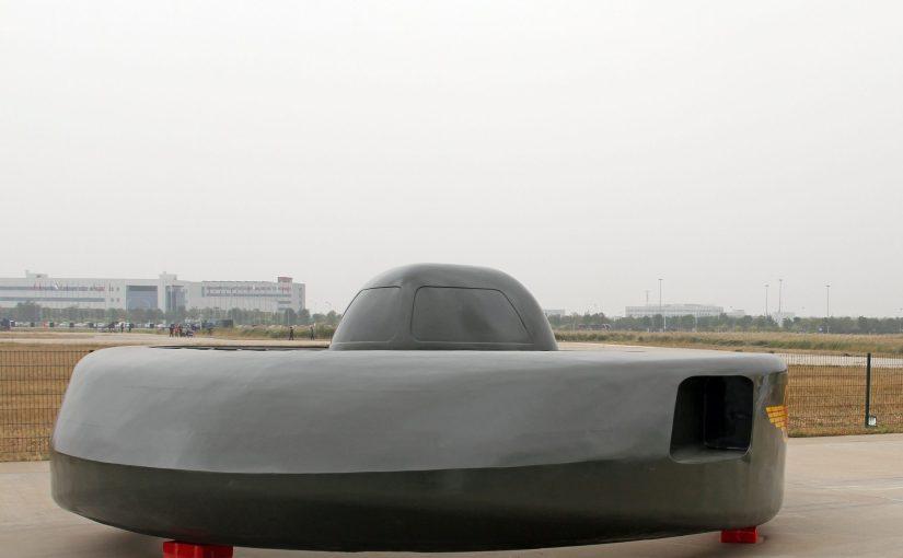 Un nouvel avion militaire chinois ressemble à un OVNI