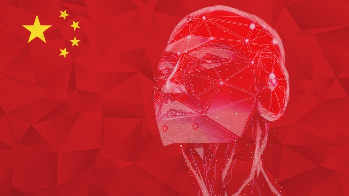 ia Chine Intelligence artificielle ia