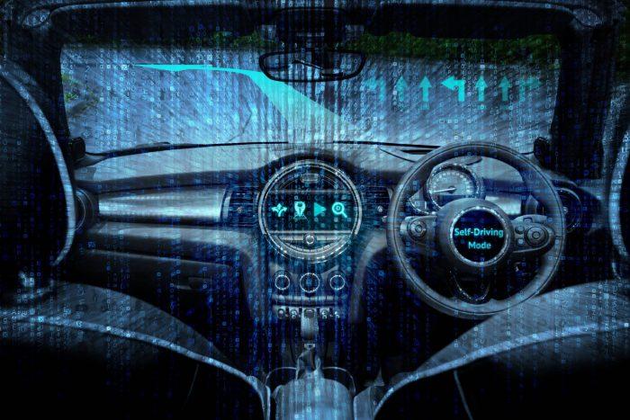 Voiture autonome voiture intelligente technologie de navigation en réalité augmentée