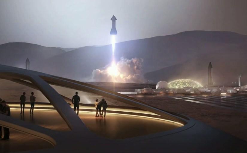 Les plans d'Elon Musk pour coloniser Mars d'ici 2050