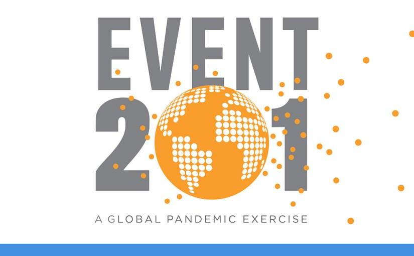 Event 201, un exercice pré-Covid 19 en cas de pandémie