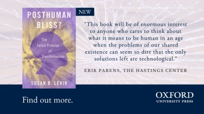 Posthuman Bliss Oxford University Press