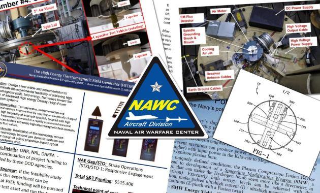 arme de modification de l'espace-temps brevets