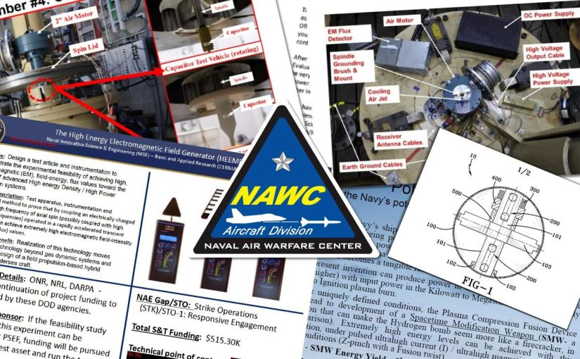 L'US Navy aurait expérimenté une arme de modification de l'espace-temps