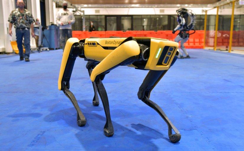 La police de New York déploie un chien robot