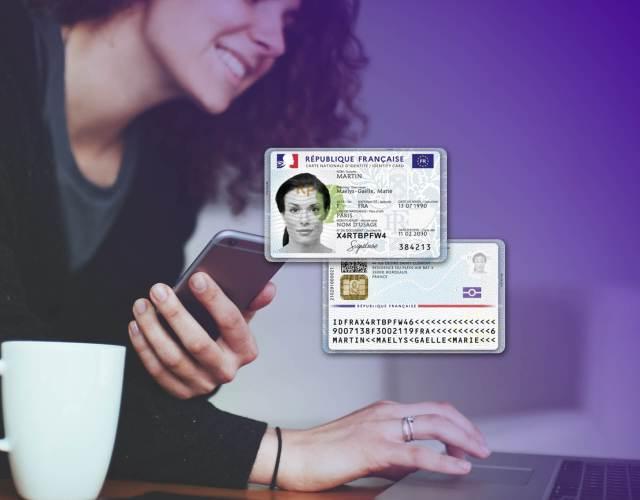 carte nationale d'identité électronique (CNIe) IDEMIA