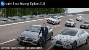 Mercedes-Benz plans to switch to fully electric car production by 2030