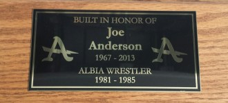 Joe Plaque
