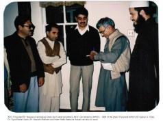AFIC President Taking notes - 1986
