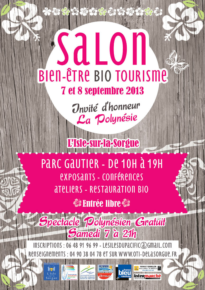 Salon bio bientre et tourisme Isle sur la Sorgue