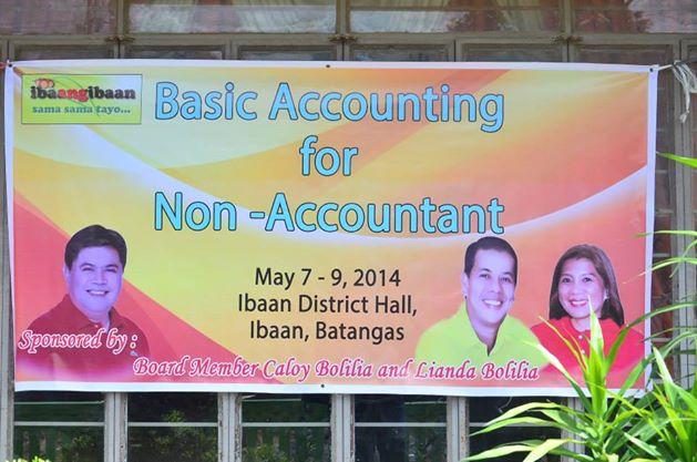 ibaan basic accounting training for non accountant mayor danny toreja ibaan batangas 1
