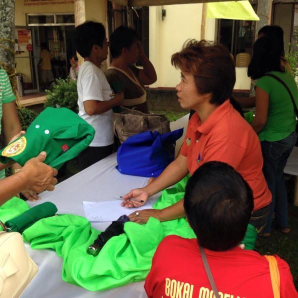 1st ibaan organic product mini trade fair ethel joy caiga mayor danny toreja ibaan agriculture 2